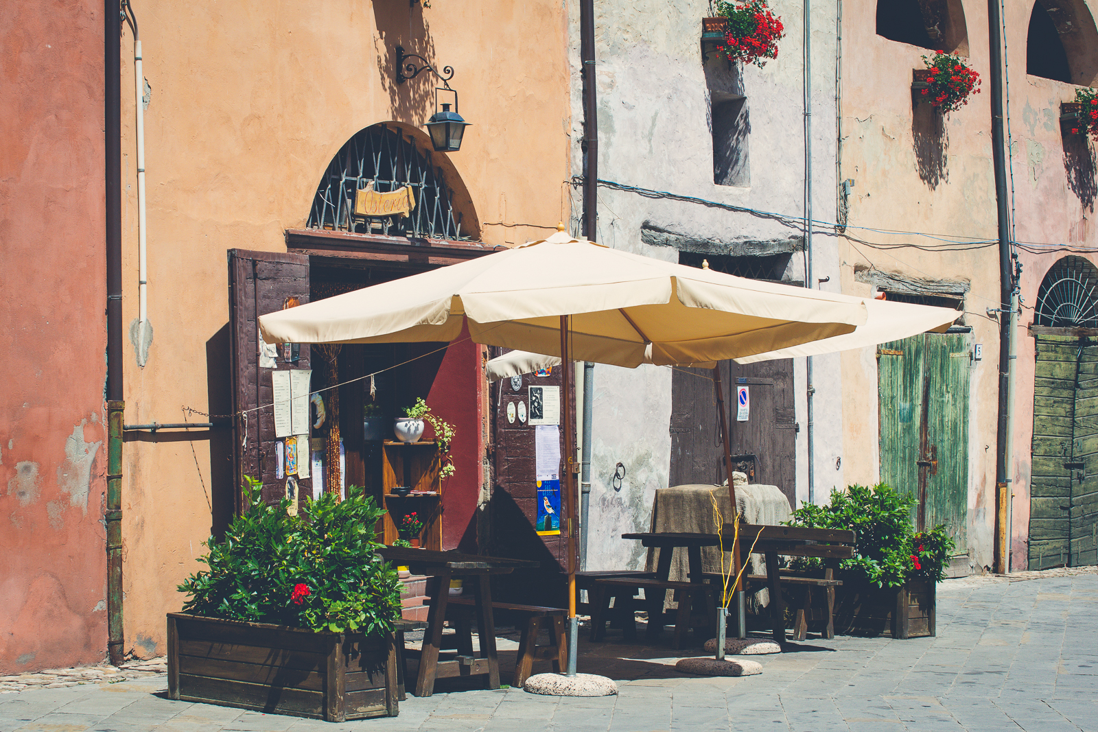 Resturant on Piazza Marconi