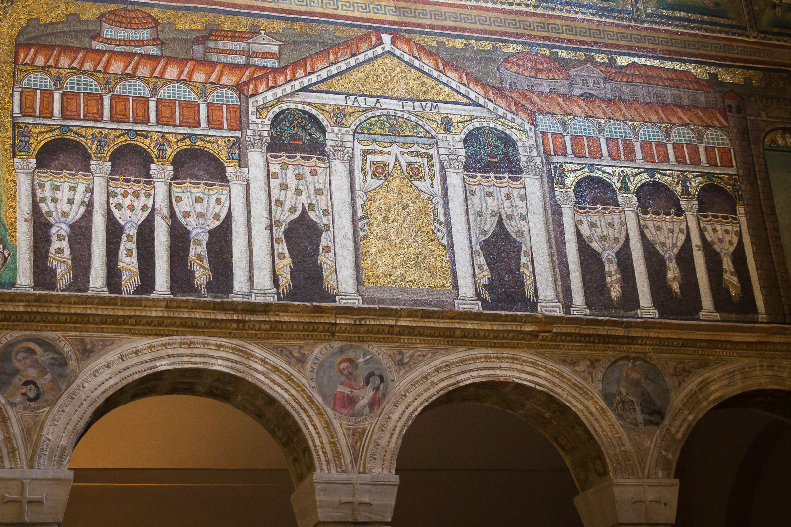 Theodoric's palace in Ravenna