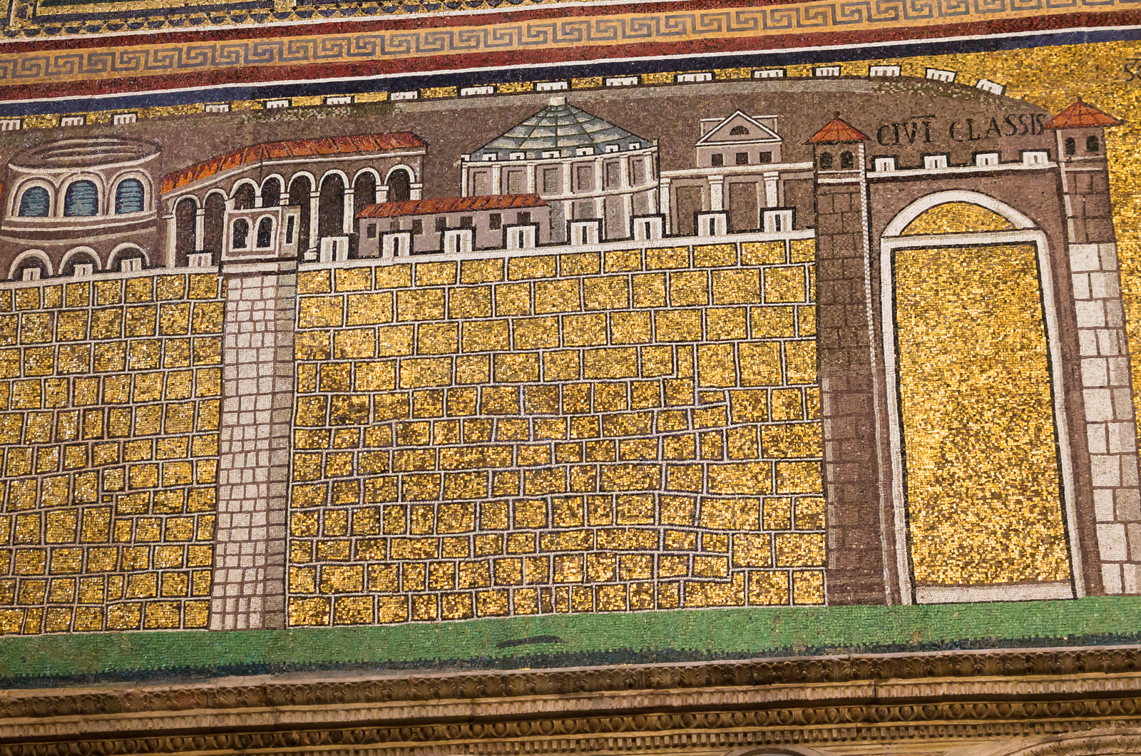 Detail on west wall – Port of Classis (Classe)