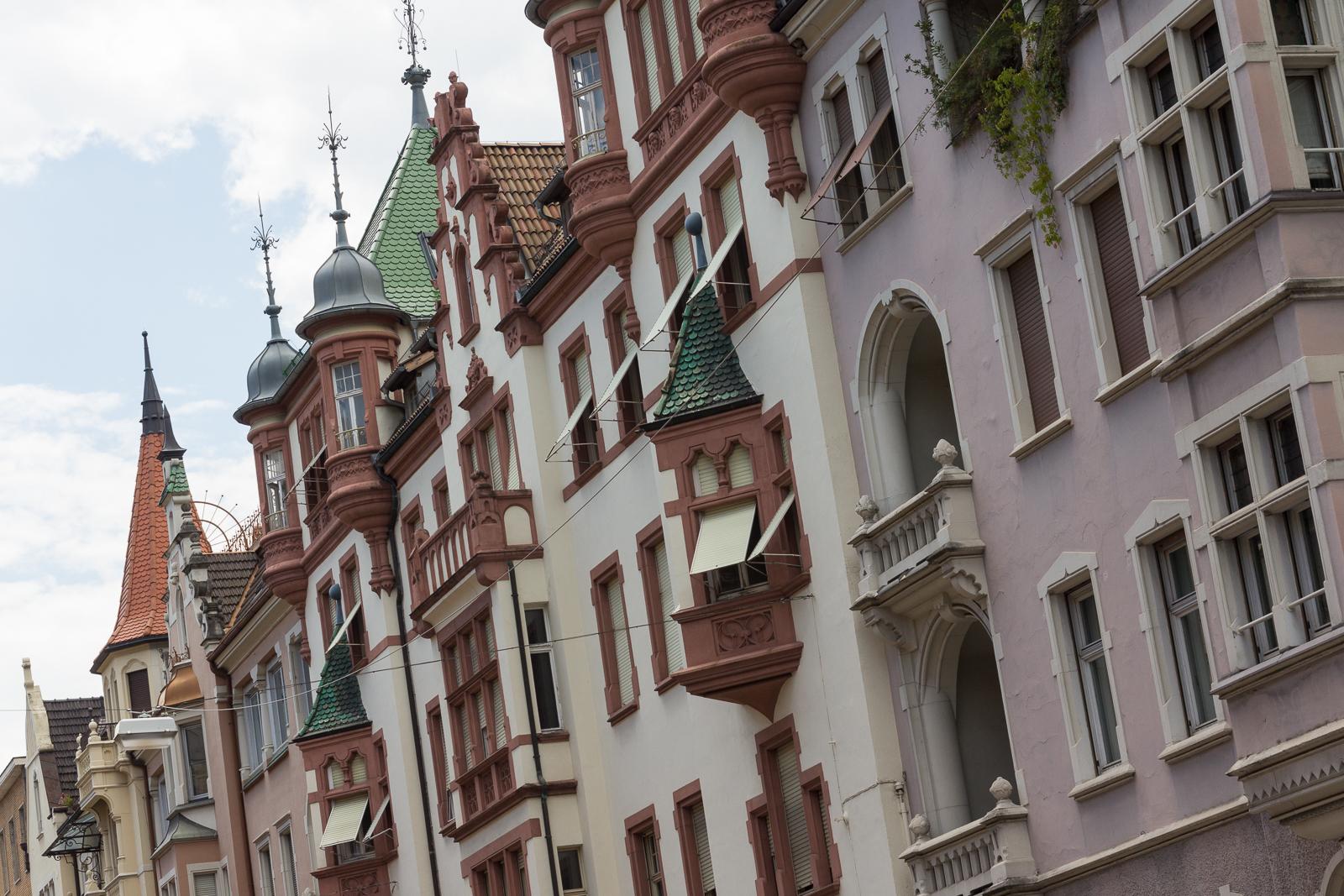 Bolzano - Bosen facades