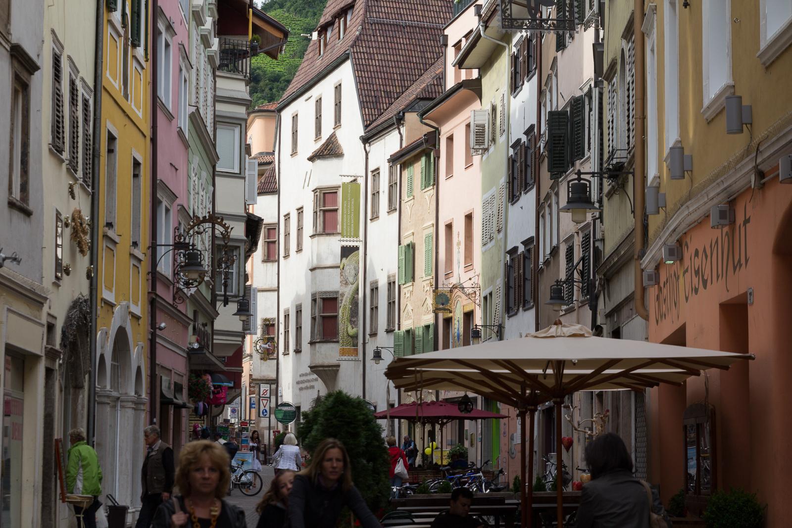 Bolzano - Bosen street view