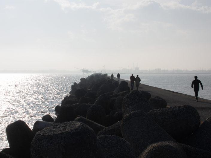 Marina di Ravenna molo