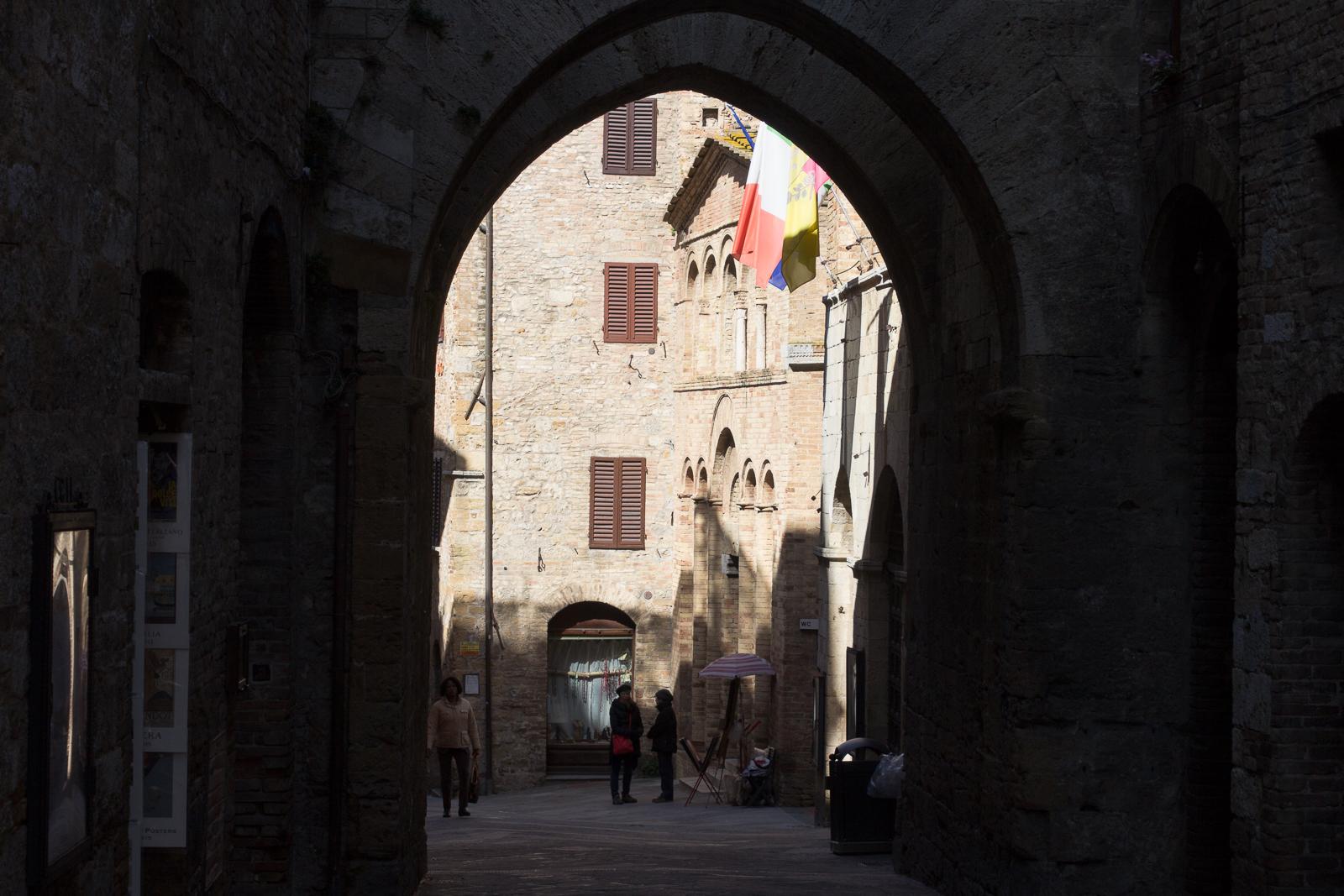 A San Gimignano view