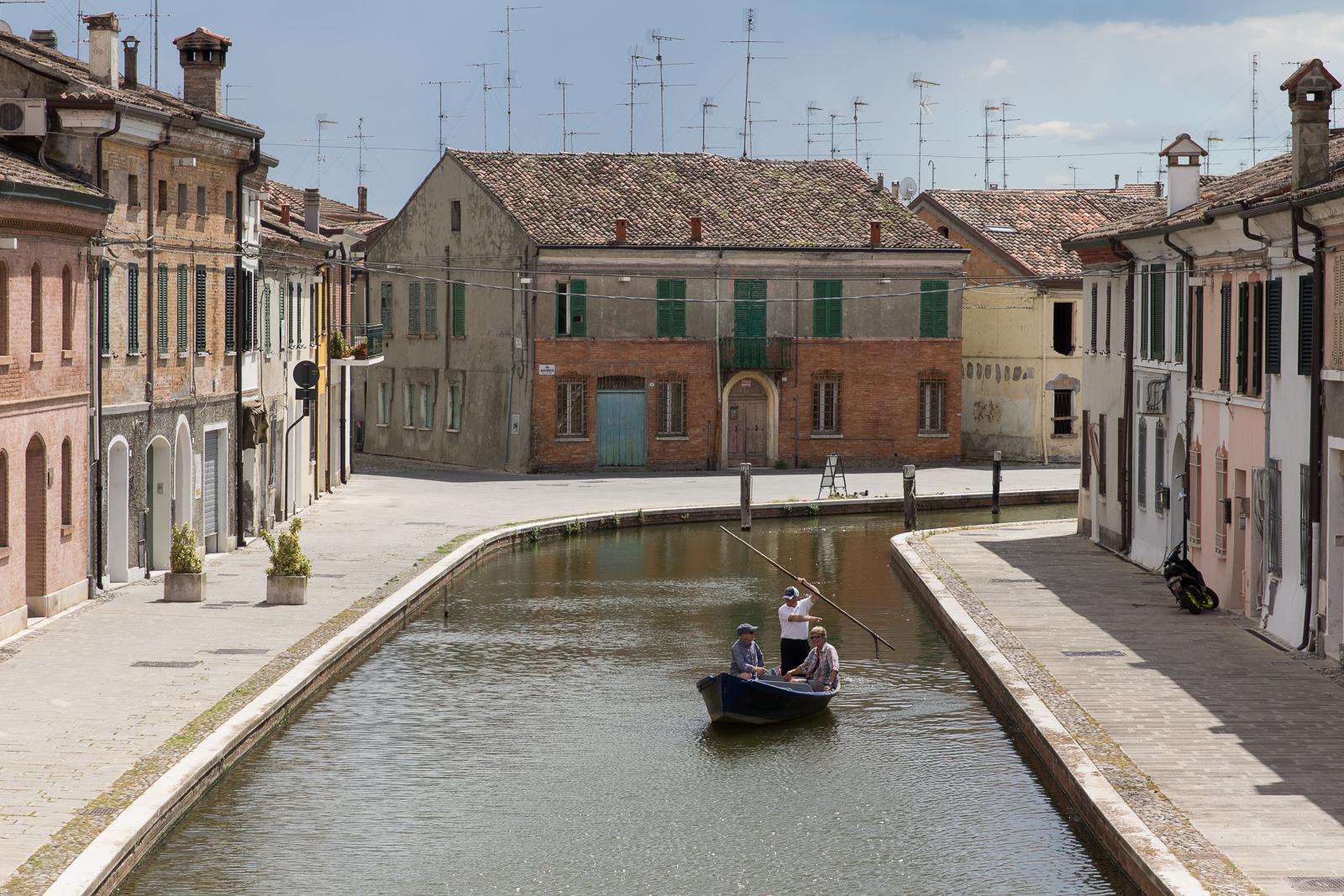 On Canale Maggiore