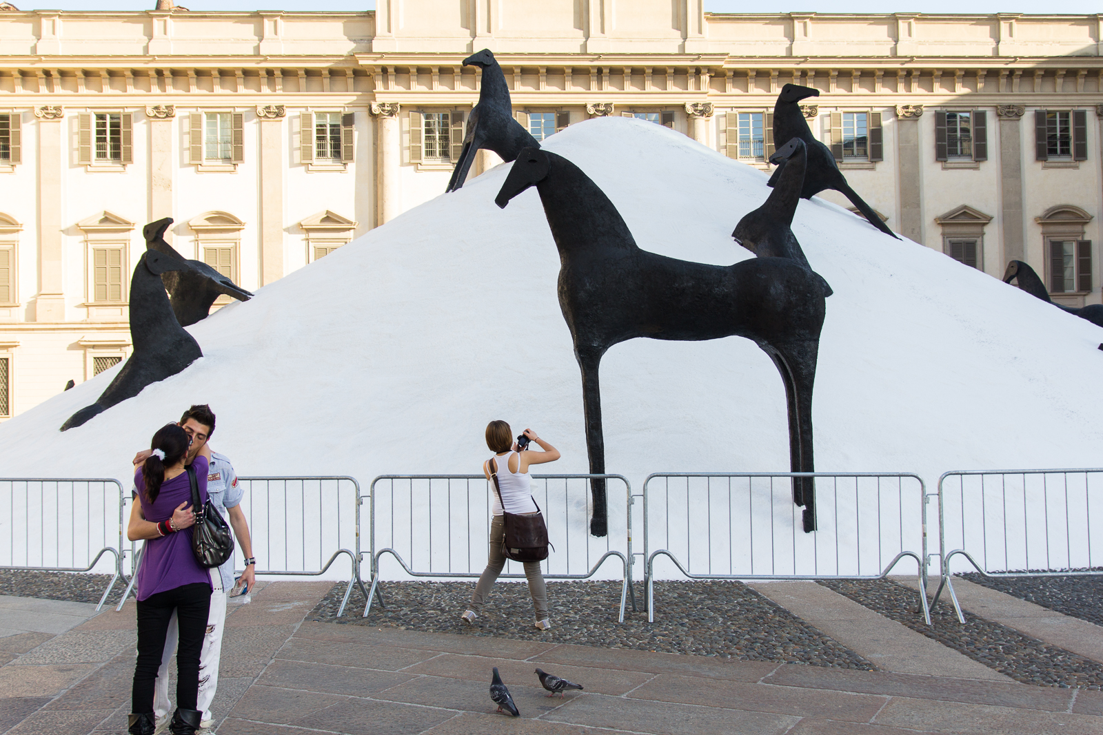 Mountains of Salt (Montagne di Sale) by Mimmo Paladino (2012)