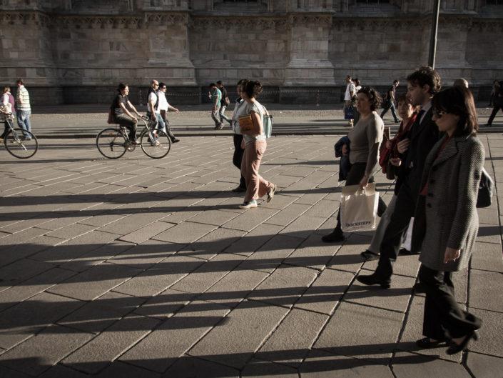 Long shadows (Milan)