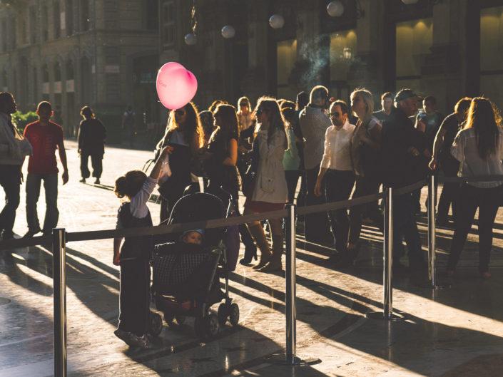Pink Ballon (Galleria Vittorio Emanuele)
