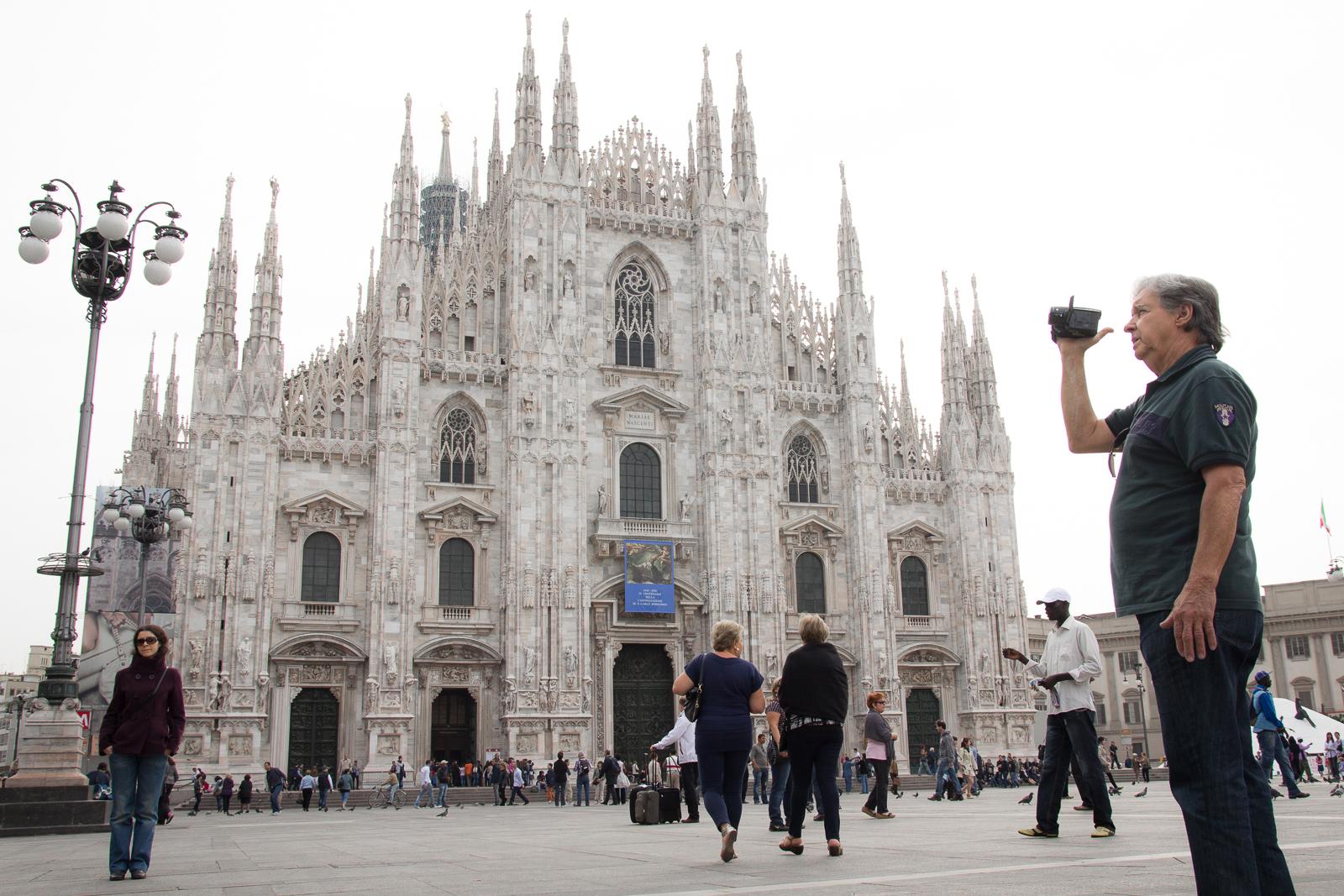 Duomo di Milano (by tourist)