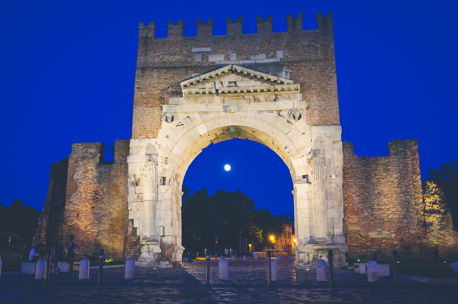 Arco di Augusto (The Augustus Arch)