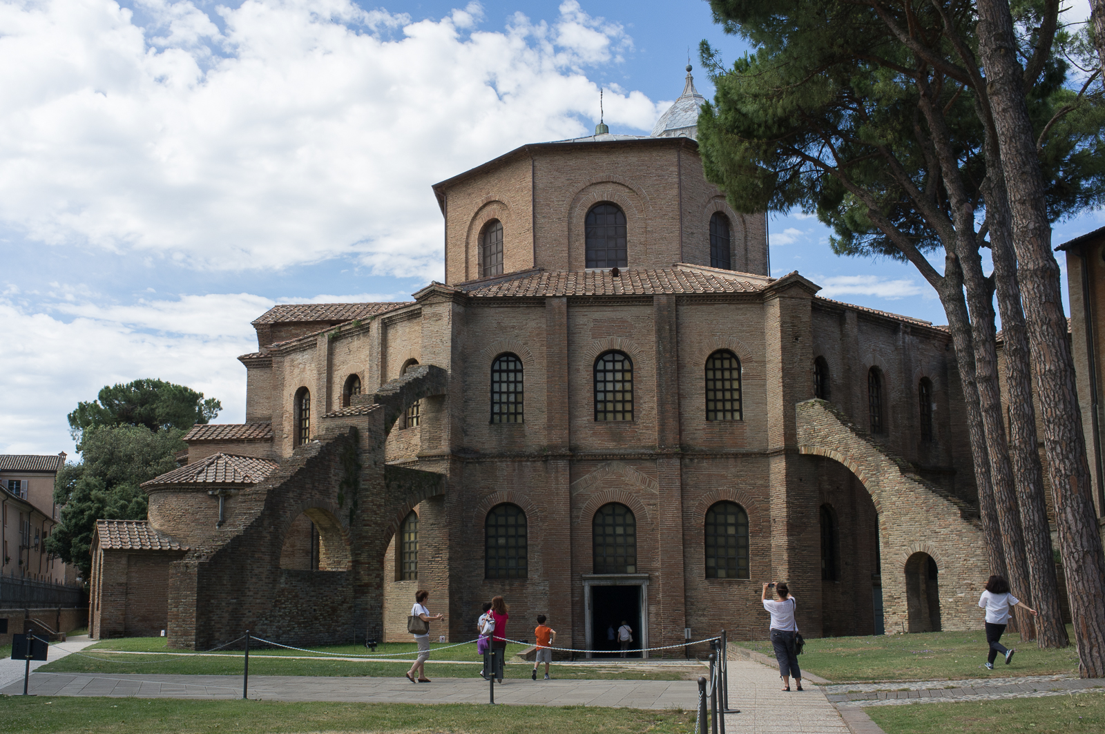 Basilica of San Vitale, courtyard view