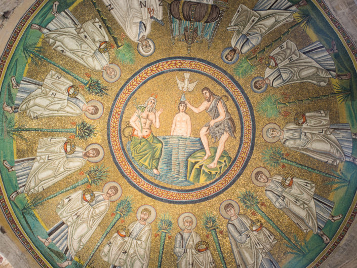 Arian Baptistry, Ravenna