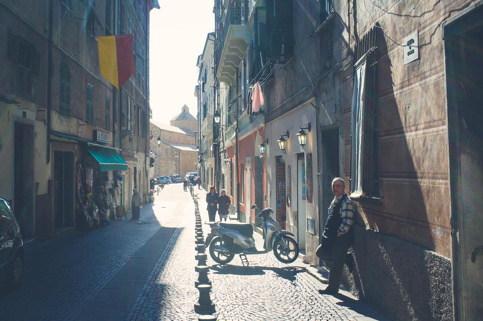 In Via Garibaldi, Ventimiglia - Italy