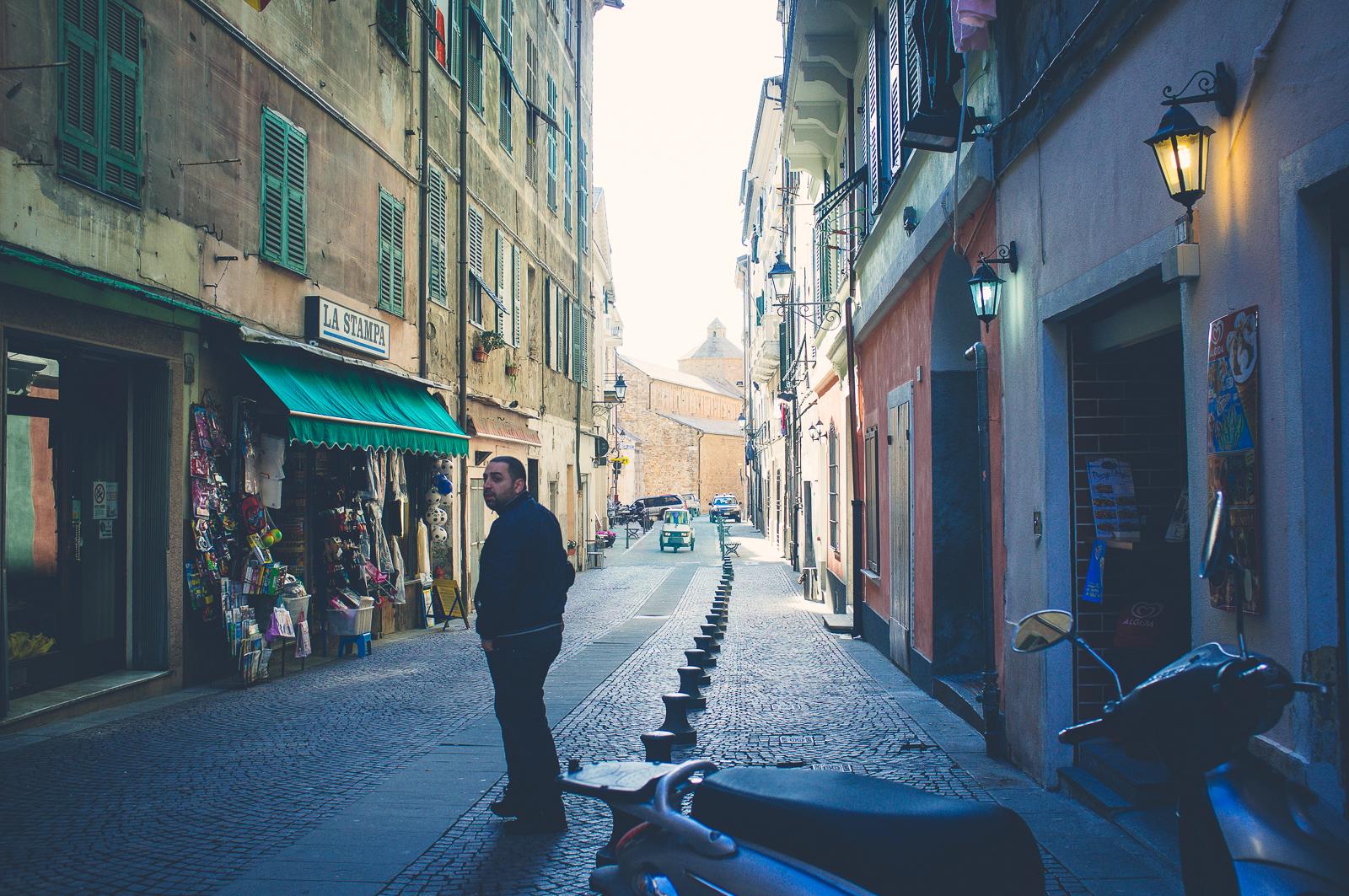 Via Garibaldi, Ventimiglia Alta