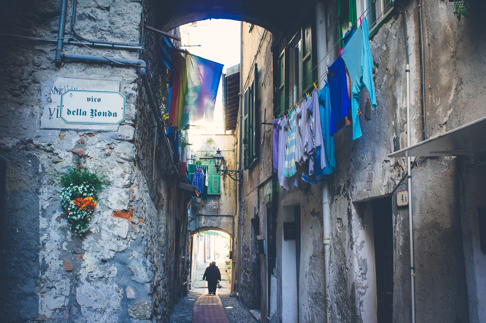 Via della Ronda, Ventimiglia Alta- Italy
