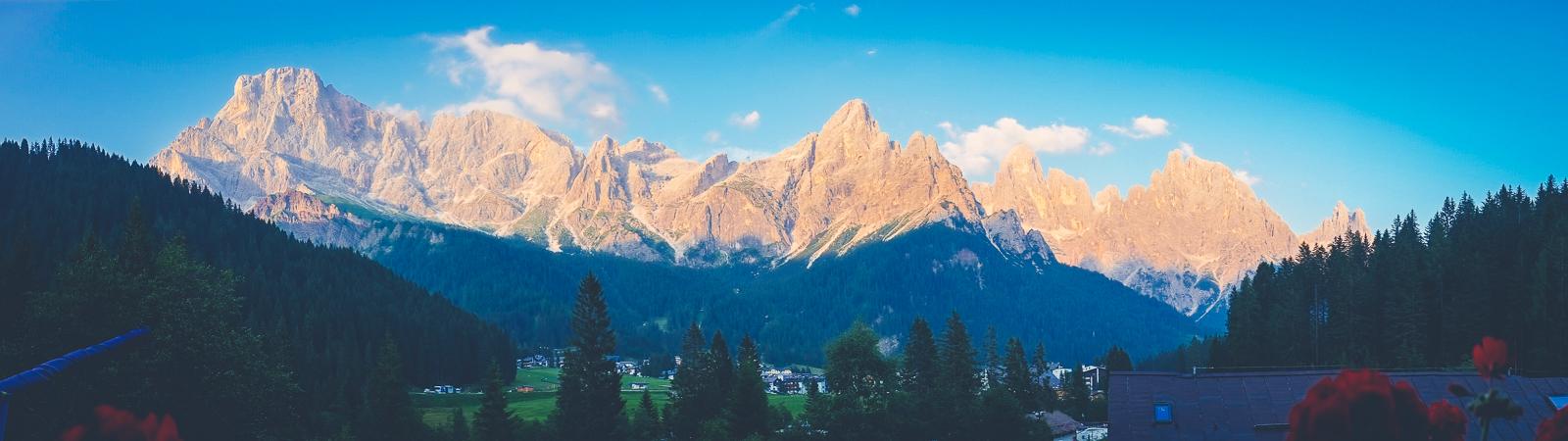 Dolomites Panorama (San Martino de Castrozza)