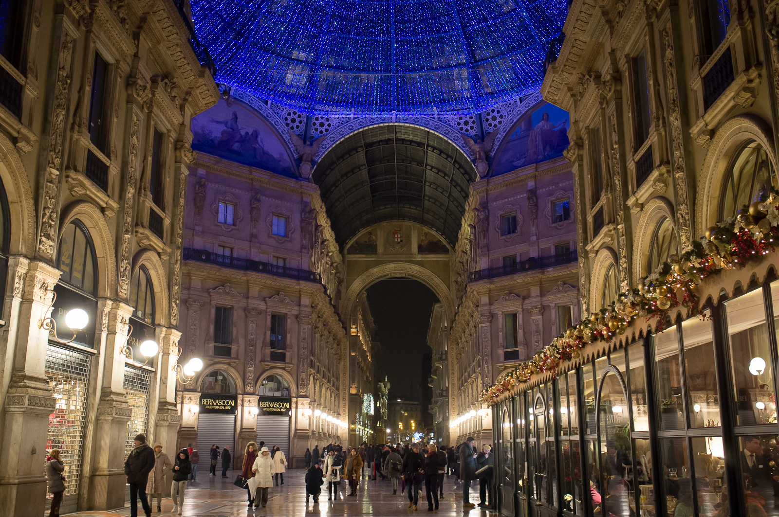 Galleria Vittorio Emanuele II (at Christmas)