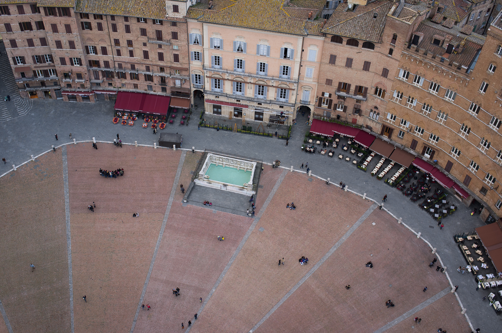 Piazza del Campo from above (Torre del Mangia)