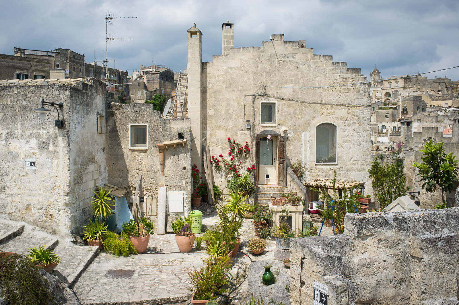 Private house in Sassi Caveoso (Matera)