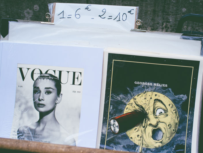 Posters (by the Seine)