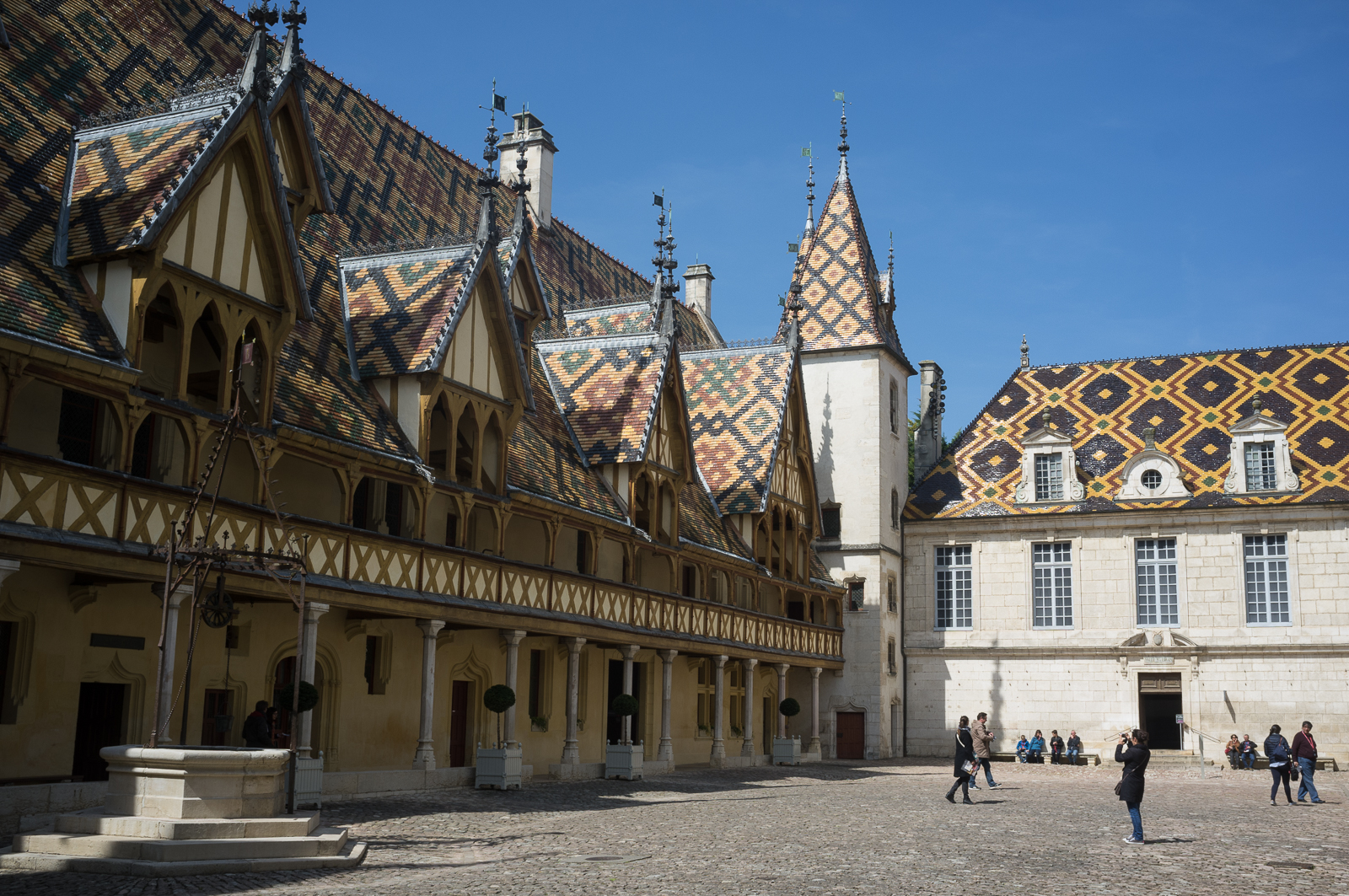 Hospice de Beaune courtyard