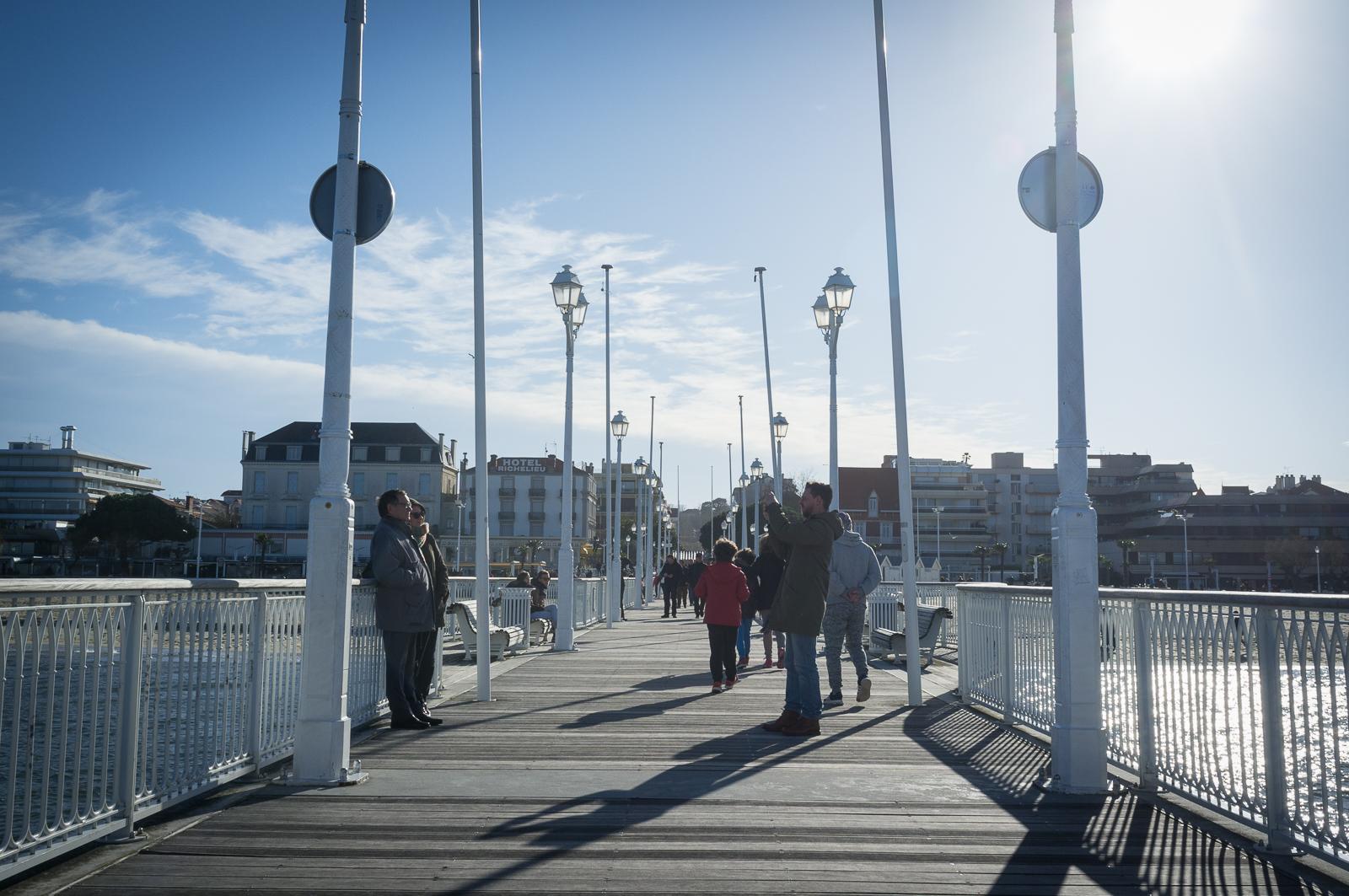 Arcachon, on the Pier, December 31, 2017