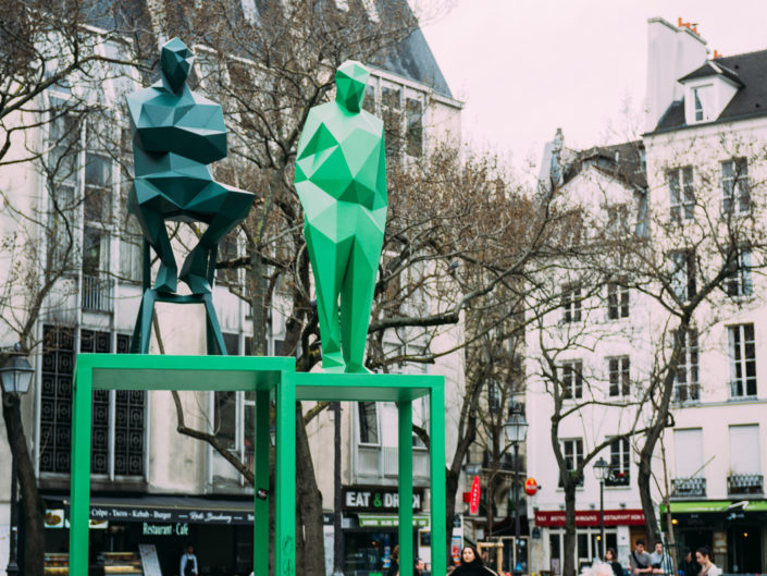 Place Edmond Michelet (Georges Pompidou)